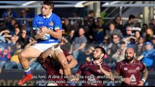 Notizie calde: Rugby, a Firenze l'Italia abbatte i colossi della Georgia 28-17