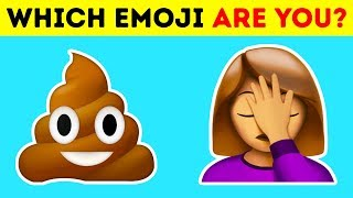 What Emoji Are You?