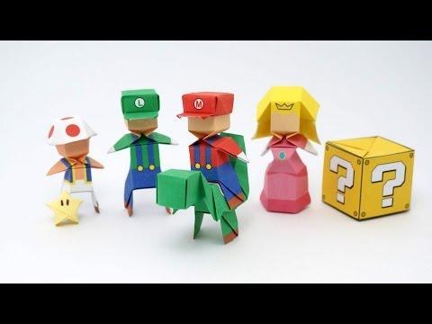 Origami Mario/Luigi-Jo Nakashima