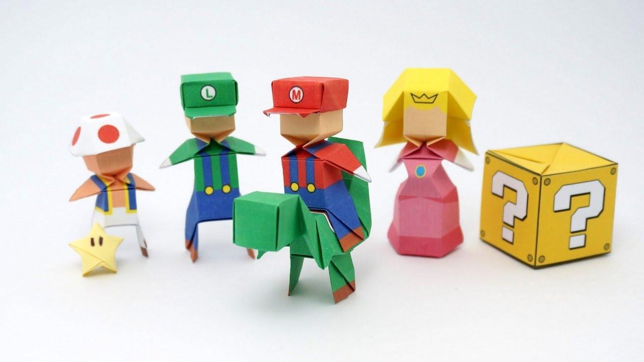 Papercraft Origami Mario (Jo Nakashima)