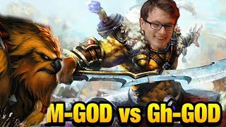M-god vs Gh-God & CanceL - Empowered Juggernaut by Miracle Dota 2