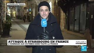 """""""La ville de Strasbourg est plongée dans le recueillement"""""""
