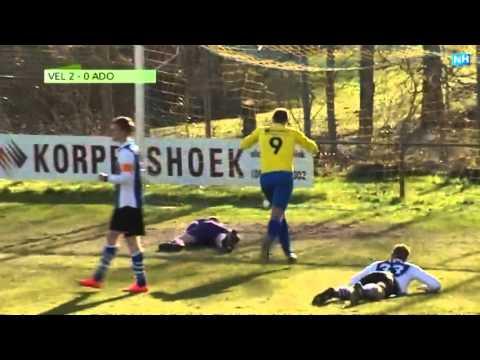 Tweede klasser Velsen verrast in de beker ADO'20. Samenvatting van de wedstrijd.