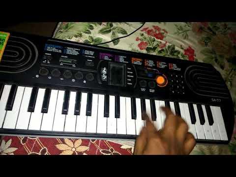 Ekvira Ha Man Pan Sadi Choli Cha On Keybord