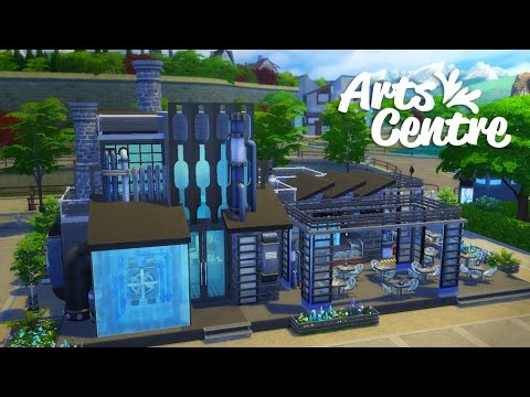 Sims 4 Speed Build | Arts Centre