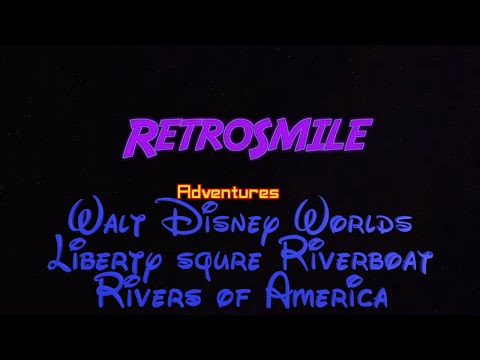 retrosmile adventures on the Rivers of America at Walt Disney World