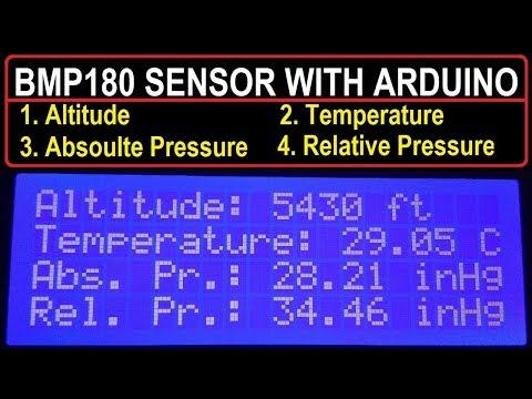 BMP180 Arduino Tutorial   Measure Altitude, Pressure & Temperature