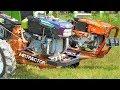 Lomba Balapan Dorong Gerobak Traktor Sawah Hut Traktor Mania Jogja Tmj