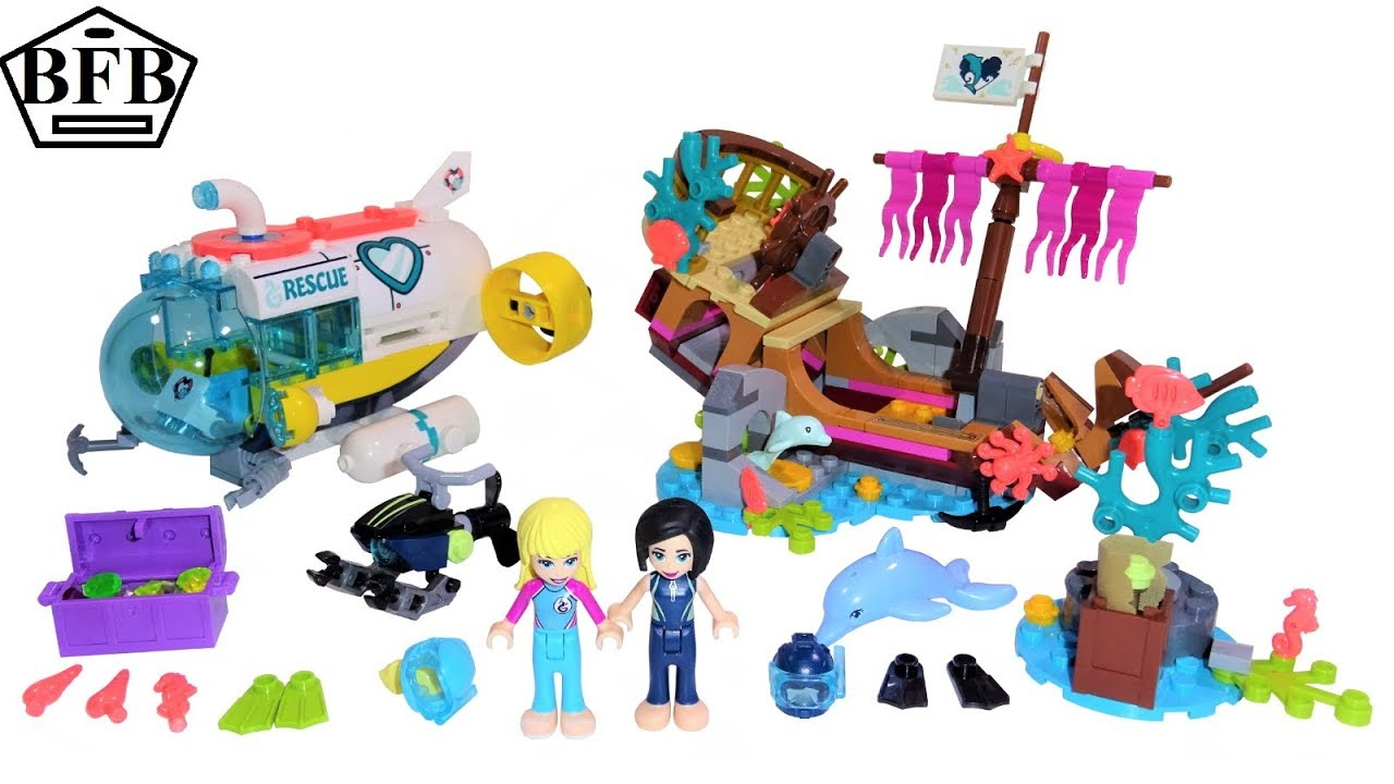 lego friends dolphin rescue