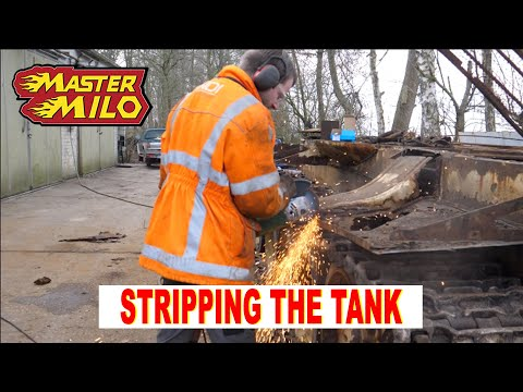 Stripping the tank