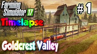 Farming Simulator 17 Timelapse #1 | Harvesting, Sugar Beets & Pigs | FS17 Timelapse