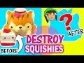 SQUISHY UNMAKEOVER: Turning Cute Squishies into Ugly Monsters #2