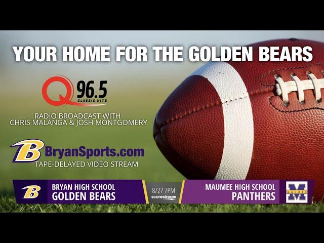 2021 Golden Bear Football - Bryan at Maumee