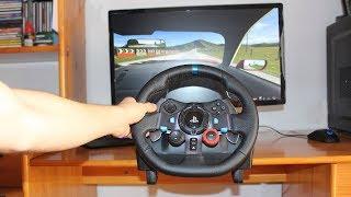 CONSEJO | MIRA ESTO ANTES DE COMPRAR UN VOLANTE SIM RACING - Logitech g29