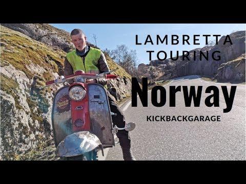 Lambretta tour in Norway