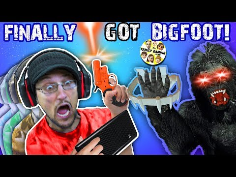 BIGFOOT CAUGHT: Musical Edition! (FGTEEV Finding Bigfoot Mobile Fake)