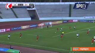 2015 K리그 챌린지 14R 강원FC vs 대구FC 하이라이트