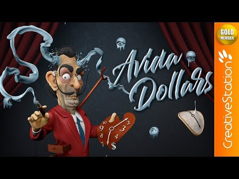 Avida Dolars - 3D Speed art (#ZBrush, #Photoshop) | CreativeStation GM