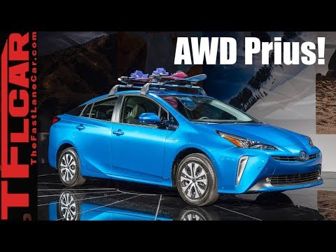 2019 Toyota Prius AWD-e: For $1,400 Extra, This Prius Can Conquer the Snow!