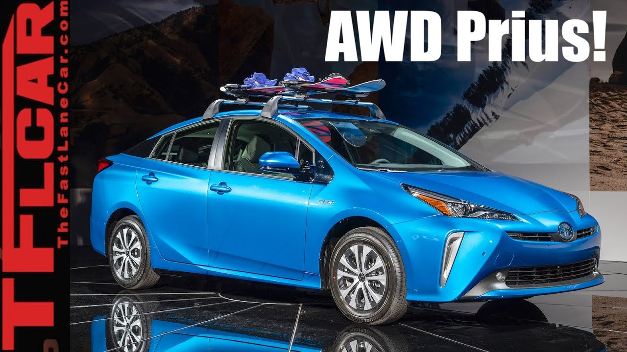 2019 toyota prius awd-e: for $1,400 extra, this prius can conquer