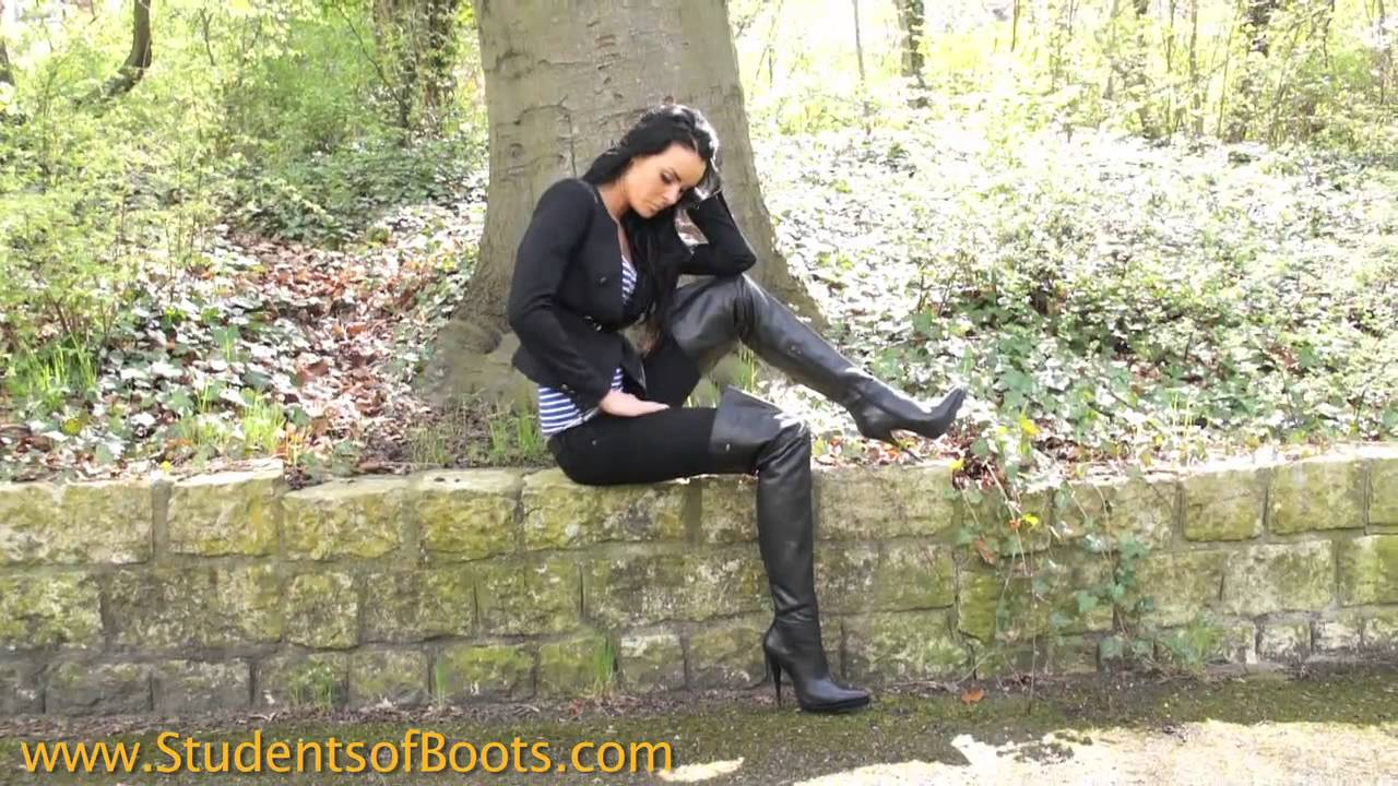 Christiane With Overknee Boots - Youtube-5830