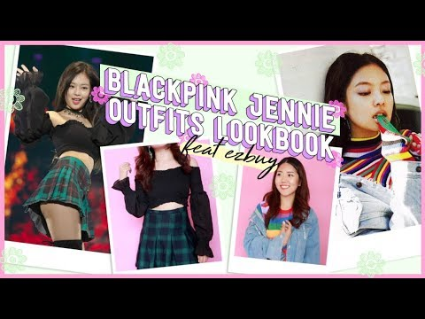 BLACKPINK Jennie Inspired Outfits Lookbook (Affordable!) feat. EZBUY | thatxxRin