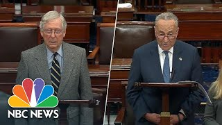 Mitch McConnell And Chuck Schumer Respond To U.S. Airstrike Against Iranian General | NBC News