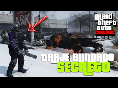 GTA V Online - Como tener Traje de TITAN Gratis para siempre | Juggernaut Armor