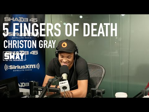 Christon Gray Raps Over the 5 Fingers of Death