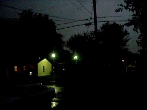 Severe Thunderstorm in Shreveport Louisiana 2009