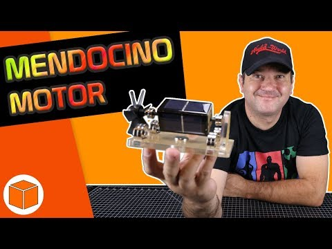 Solar Powered Motor, Mendocino Motor By Sunnytech || Unboxing