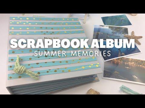 Scrapbook Album - Summer Memories   SCRAPBOOK IDEAS