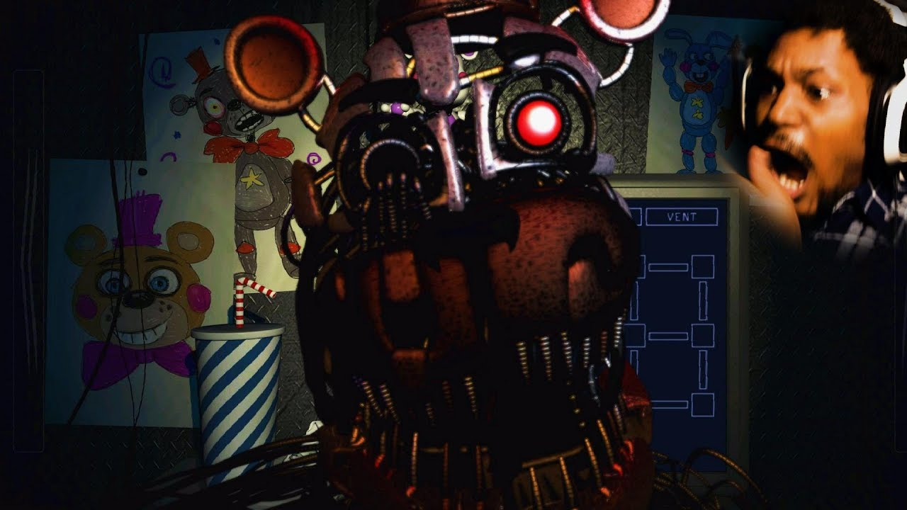 I HATE THIS GAME and this game hates me Five Nights at Freddy s Pizzeria Simulator Part 2