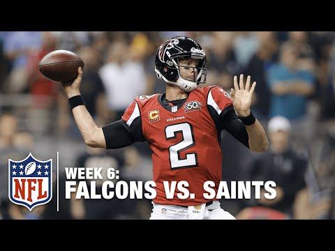 Matt Ryan Connects with Julio Jones for a Big Gain | Falcons vs. Saints | NFL