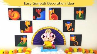 Best Ganesh Decoration | Ganpati decoration painting | Ganesh Decor-4