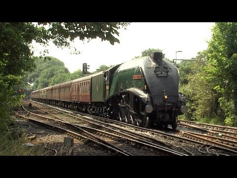 Two Cathedrals Expresses behind 60009 Union of South Africa - 18th July 2017