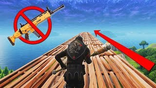 Winning Fortnite With NO GUNS Challenge!