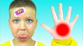 The Boo Boo Song - Canción Infantil   Canciones Infantiles con Max