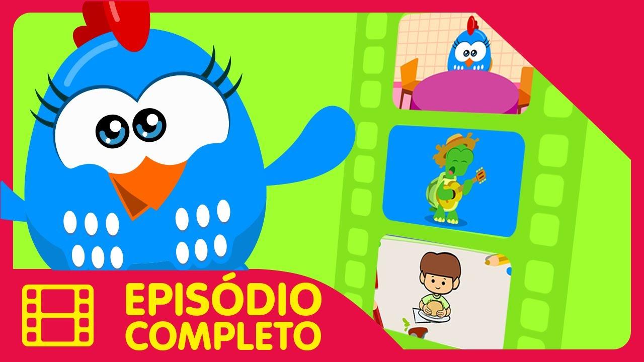 Galinha Pintadinha Mini - Episódio 49 Completo - 12 min