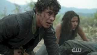 The 100 Season 2 Ep.4 - Octavia & Bellamy reunite