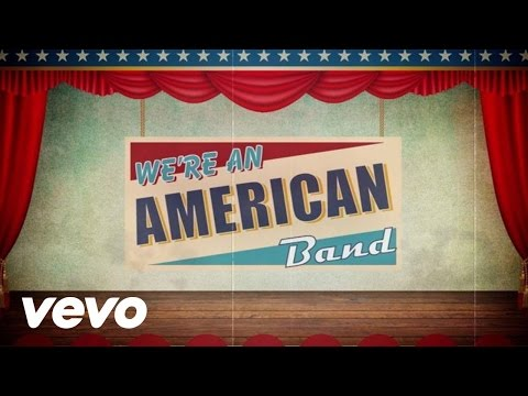 Rob Zombie - We're An American Band (Lyric Video)