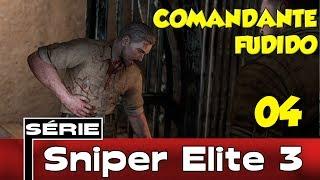 Sniper Elite 3 Detonado Coop Parte #4 - Comandante Fudido [PT-BR]