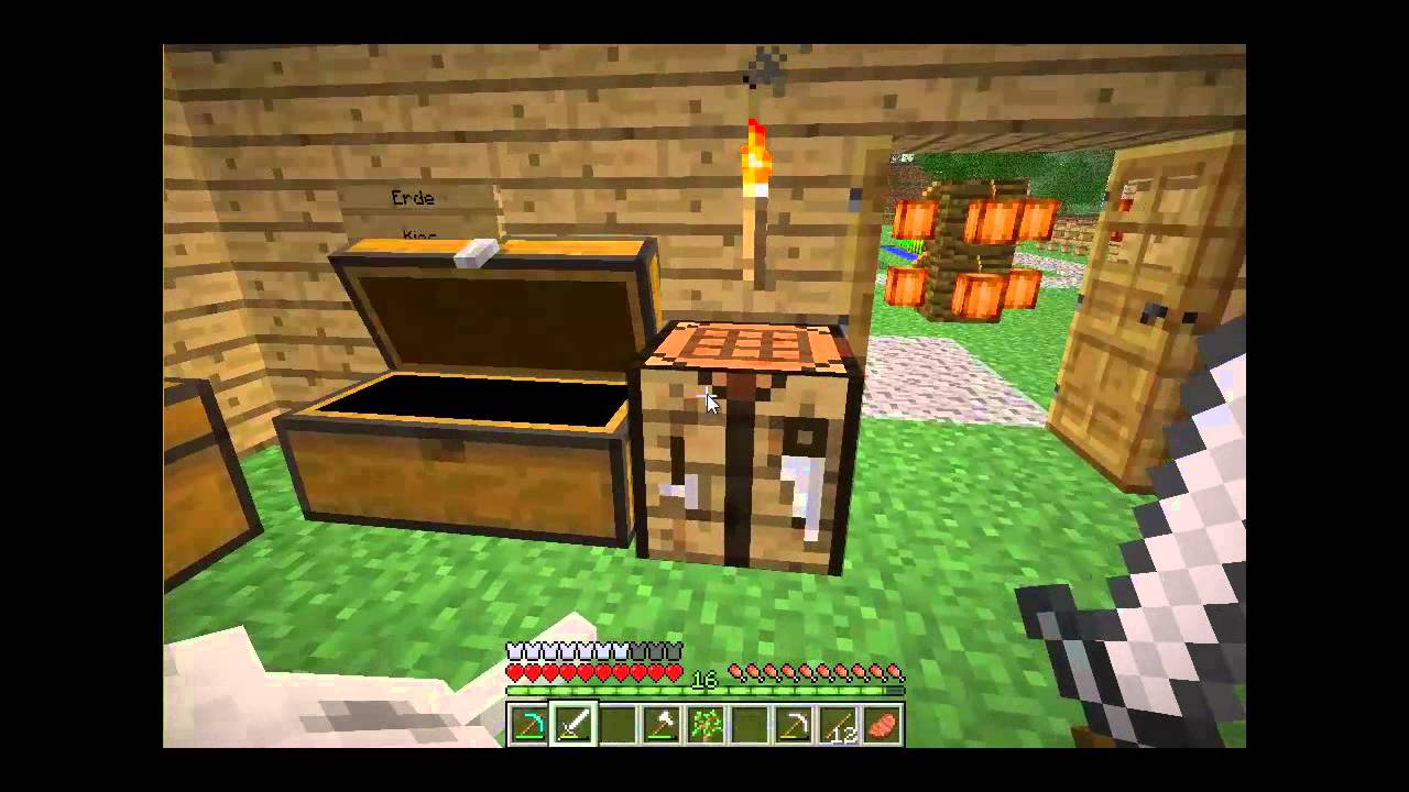 minecraft lp 016 berg h tte bauen youtube. Black Bedroom Furniture Sets. Home Design Ideas