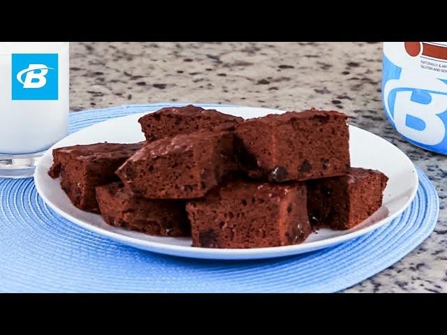 Healthy Greek Yogurt Brownies   Quick Recipe [YouTube 動画] クリックで動画がスタンバイされ、もう1回クリックすると再生します