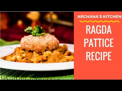 Ragda Patties Recipe - Evening Snack Recipes by Archana's