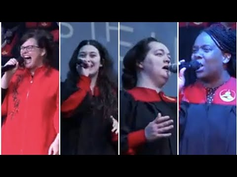 """Release The Sound"" – Shara McKee, McKenna McKee, Pamela Corea, Ashley Marshall, POK Sanctuary Choir"