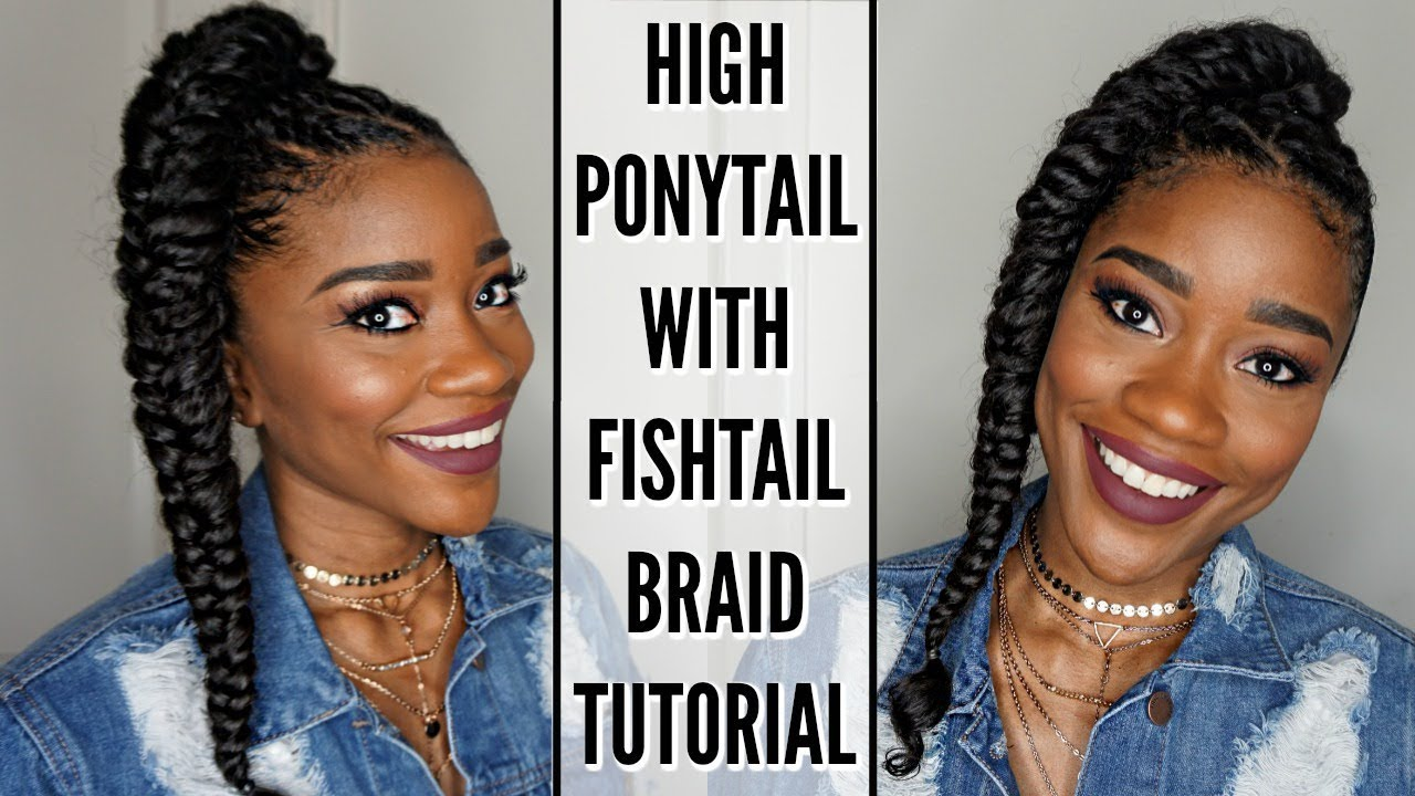how to fishtail braid your hair - easy braid tutorial for