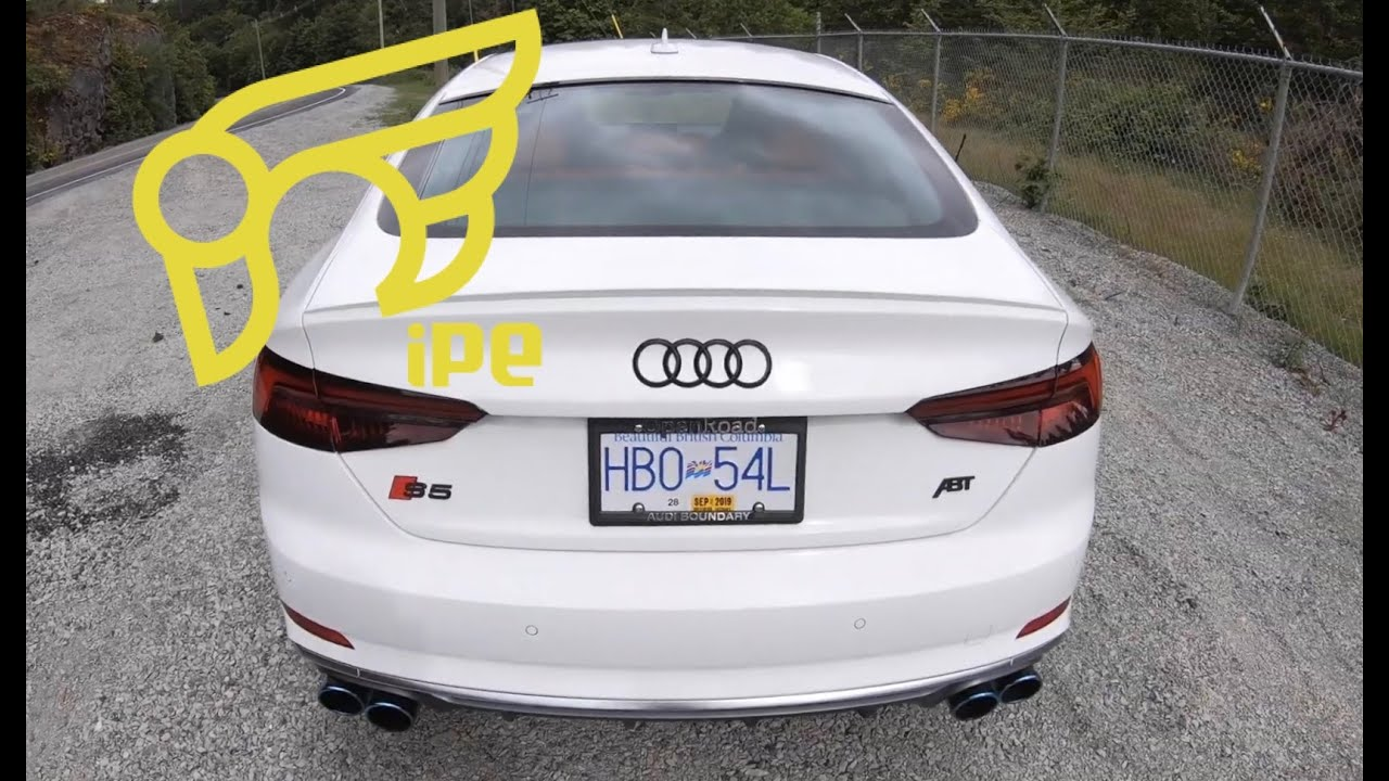 2018 Audi S5 Sportback B9 With IPE Catback Exhaust (Rev, Acceleration)