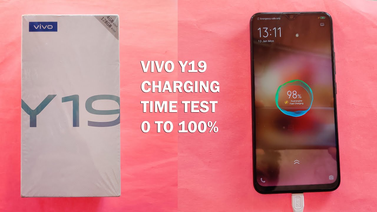 VIVO Y19 Charging Time Test 0 TO 100%