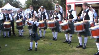 Boghall and Bathgate Pipe Band Drum Corps 2012 Worlds..
